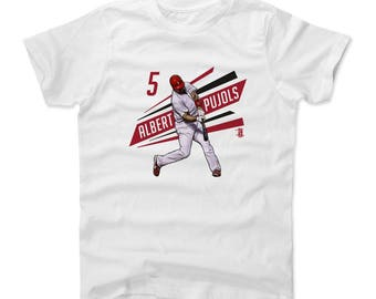 Albert Pujols Outline R Officially Licensed Los Angeles A Kids T-shirt