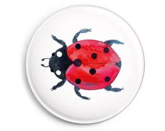 fridge magnet *Ladybeetle / Ladybug*