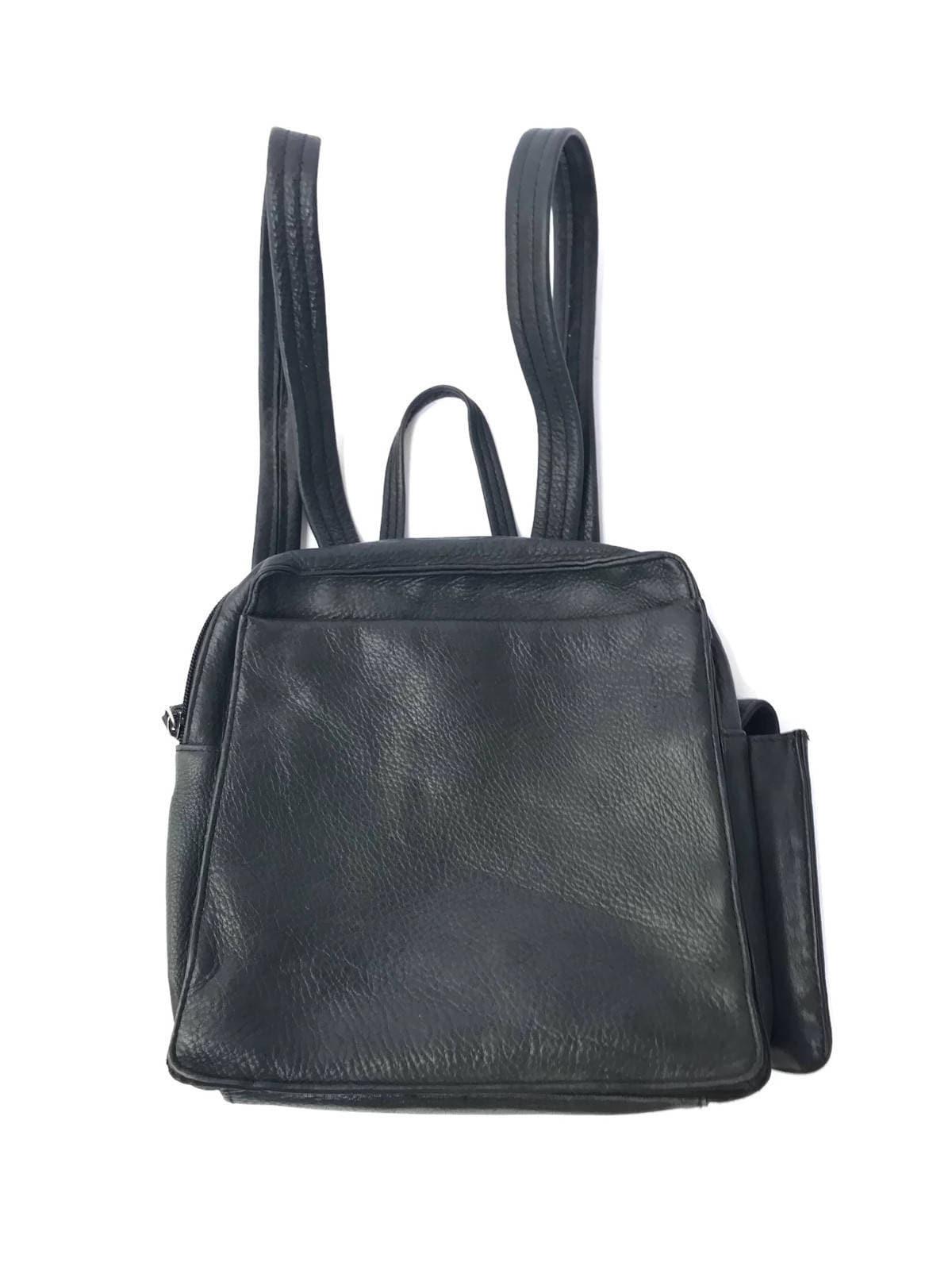 65f20a6c7a Black Leather Backpack Purse Sale- Fenix Toulouse Handball