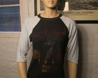 Size Women's L (38) ** 1982 Billy Squier Shirt (Double Sided)