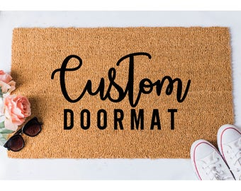 Custom Doormat   Custom Door Mat   Personalized Welcome Mat   Funny Doormat    Door Mat