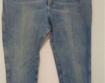 Men's Vintage Lee Blue Jeans 34 x 30 100% Cotton