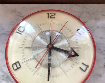 Vintage Telechron kitchen clock