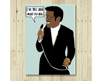 Sammy Davis, Jr. Magnet, Famous Person, Refrigerator Magnet, Gifts Under 10, Small Gift, Gift for Her, African American , Romantic Gift