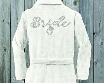 Custom Bridal Terrycloth Robes