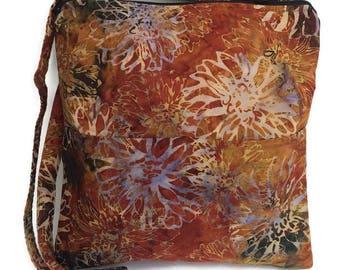 Batiks Dahlia Kashmir Crossbody Bag, Handbag, Hipster