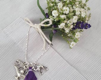 Aladdin Themed Charmed Necklace