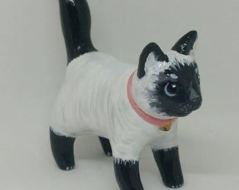 Cat Sculpture - Handmade