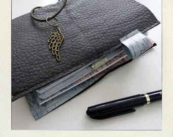 Notebooks - notebook - Bullet journal - midori style traveler - fauxdori + Buldori - Organizer