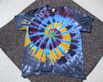 tie dye shirt, Grateful Dead, hippie, festival, rainbow