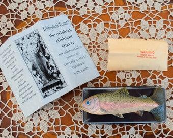 Vintage Fish Shaving Razor Ichthybod Trout