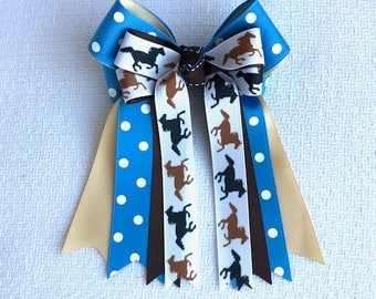 Horse Show Hair Bows/equestrian clothes, hair accessory