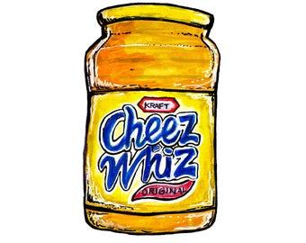 Cheez Whiz Print