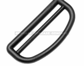 10pcs 61mm Backpack Belt Strap Plastic D Shaped Ring Buckles Loop Fasteners