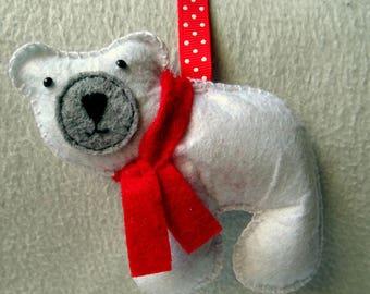 Door keys or polar bear bag charm