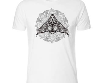 Henna Hands Men's White T shirt