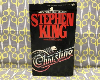 Christine by Stephen King paperback book vintage horror