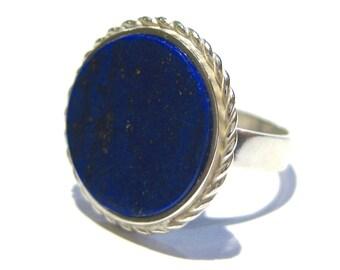 Lapis lazuli ring silver 925%