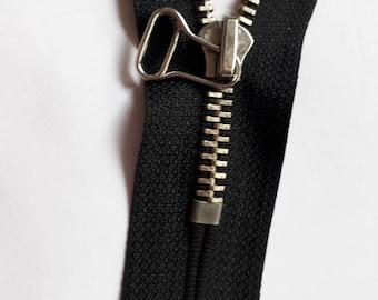 Black m5 indivisible vintage zipper metal teeth size 5 zip fastener молния cerniera rack fermeture éclair cipzár רוכסן