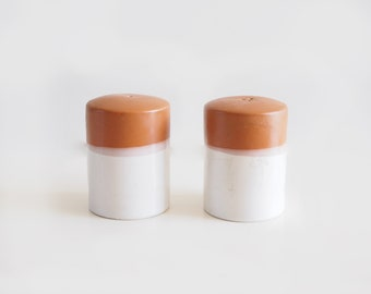 desert sand salt & pepper shakers