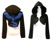 Pokemon GO team Mystic Articuno inspired cosplay costume hoodie (shrug style), gamer, nerdy, geeky, pokeball, cosplay costume, halloween