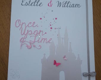 """romantic and magical"" wedding announcements"