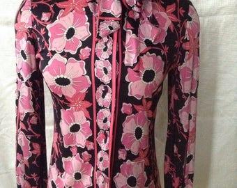 Vintage 1970's EMILIO PUCCI blouse
