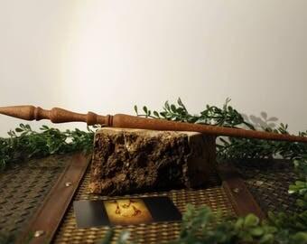 Lacewood wand