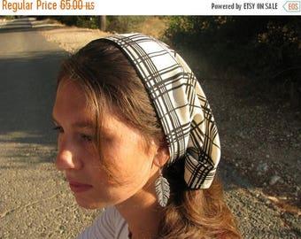 SALE Classic chiffon hair cover,extra wide hair wrap,tichel,hair snood,hair wrap,womens wide headcover,large headband,liturgical,religious g