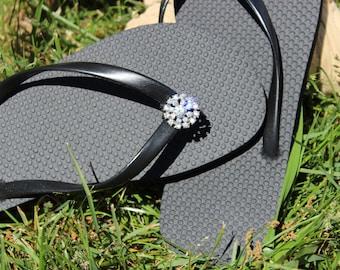 Rhinestone Flip Flop Jewels