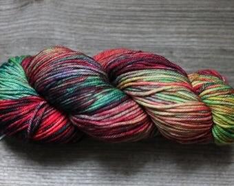 Merino wool yarn Malabrigo RIOS yarn Worsted merino wool Super Soft and Washable merino wool Hand dyed yarn Malabrigo Rios #684 CAMALEON