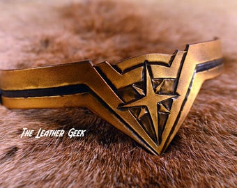 Wonder Woman Tiara, wonder woman cosplay, Gal Gadot, crown, costume headband, leather armor, Justice League, wonder woman costume, DC comics