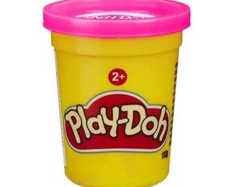 Jar of Play Doh - pink