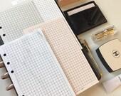 Grid Notepaper