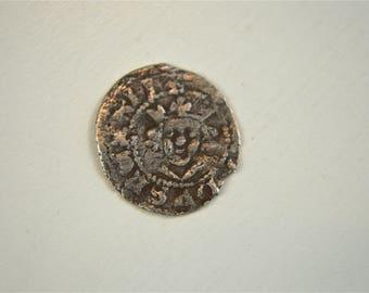 Original king Edward II silver farthing 1307-1327 English silver hammered coin HC2