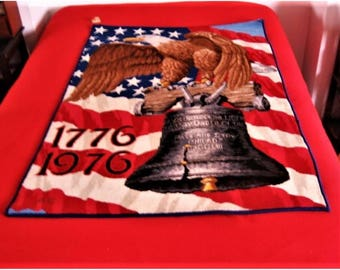 American Legend 1776-1976 Bicentennial Rug/Wall Hanging (Alex. Smith)