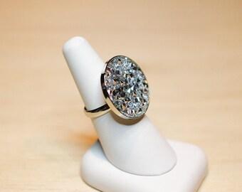 Ring Crystal fine Rocks Swarovski base