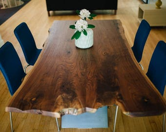 Live Edge Slab Table