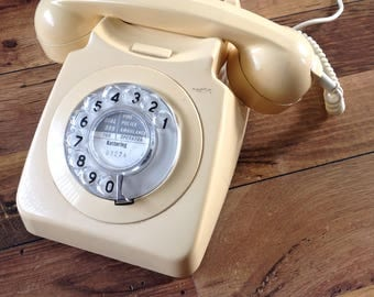 Vintage analogue dial  telephone