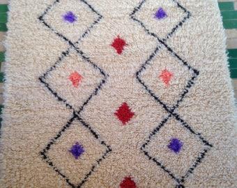 Beni Ouarain tribal Berber rug