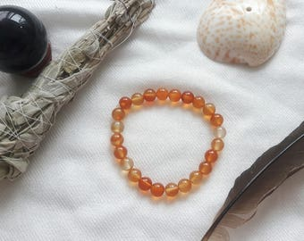 CARNELIAN Bracelet | Carnelian Jewellery To Connect With Fiery, Passionate and Creative Energy
