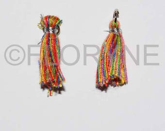 2 tassel wire 10 X 28Mm with a key ring