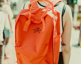 Coral Triple Goddess Daypack - Coven of Mothers Collection