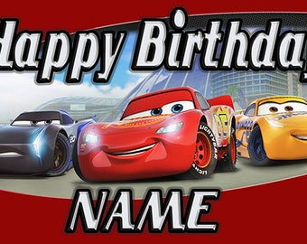Disney Cars Birthday Banner (3)
