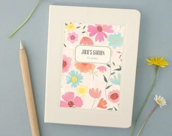 Personalised Gardener's Notebook