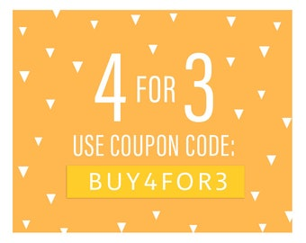 Coupon Code: 4FOR3 / Buy 4 Sets For The Price Of 3!