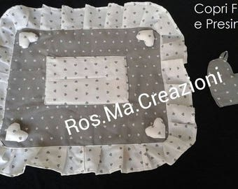 Kitchen cooker cover, hand-made pot holder