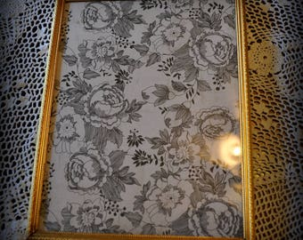 Vintage Gold Metal Picture Frame, 9 x 7 in.