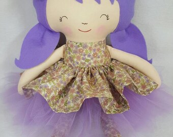 Doll Handmade Toy Softie Plushie Girl