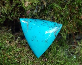 Triangle Turquoise Handmade Cabochon